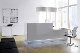 Led Reception Desk Reception Desks For Offices Fusion