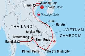 Blank Map Of Vietnam by Best Of Vietnam U0026 Cambodia Vietnam Tours Intrepid Travel Us