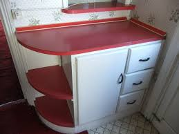 Just Cabinets And More by These Retro Kitchen Cabinets And Formica Worktops In White And