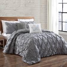 brooklyn loom jackson pleat mini comforter set our room