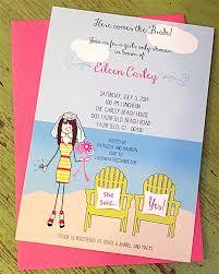 stick themed bridal shower invite l pj greetings