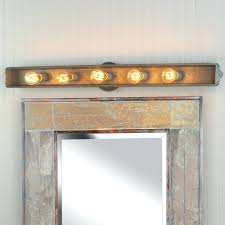 bathroom lighting ideas for vanity rustic bathroom lighting somedaysbistro com