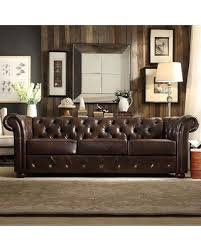 Chesterfield Tufted Sofa by Surprise 20 Off Homevance Vanderbilt Chesterfield Button Tufted