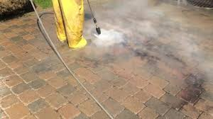 Envirobond Polymeric Sand by Specialty Stain Removal On Uni Stone Driveway Scellantsuperseal