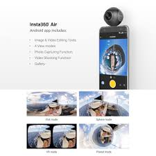 insta360 air 360 camera for android micro usb phones