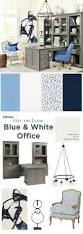 get the look blue white home office how to decorate get the look of this chic blue and white home office from ballard designs