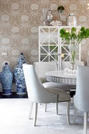 wallpaper in dining room exclusive designer tips how to stylishly use wallpaper in your