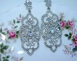 6 Beautiful Chandelier Earrings You Art Deco Earrings Etsy