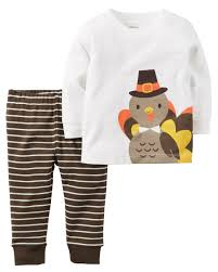 carters thanksgiving 2 thanksgiving top pant set carters
