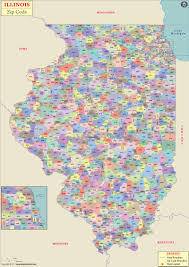 Elgin Illinois Map by Illinois Zip Code Map Illinois Postal Code