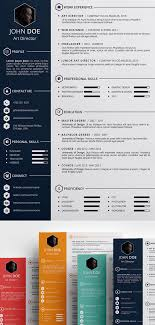 Professional Resume Cv Template Free Creative Resume Template Psd Id Free Psd Files