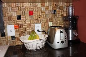Cork Backsplash Tiles by Wine Cork Backsplash Tiles Home Design Ideas