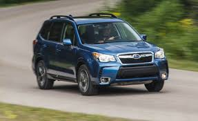 subaru forester touring interior 2016 subaru forester 2 0xt test u2013 review u2013 car and driver