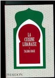 cuisine libanaise livre octobre 2013
