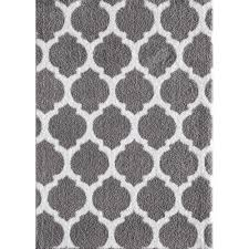 Black And Gray Area Rug Trellis Area Rugs Rugs The Home Depot