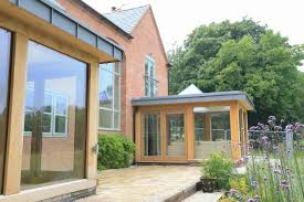 Home Porch Design Uk by Contemporary Oak Frame Design In Alexton
