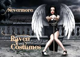 costumes for nevermore costumes for women and men isleofhalloween