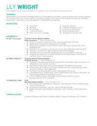 sample resume for customer service agent create my resume sample