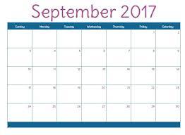 printable calendar 2017 for planner 2017 september printable