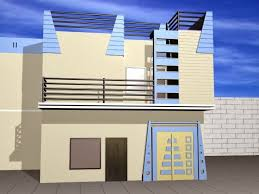 3d home design 5 marla 5 marla beautiful house front design in pakistanand india 3 marla