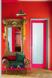 wall decor red wall mirror design wall design wall ideas red
