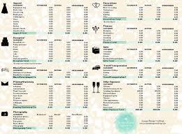wedding budget template wedding budget template new calendar