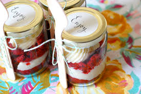 wedding cake jars diy cake in a jar favors diy the thirty something