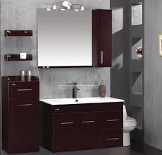 bathroom rustic brown modern bathroom design with rectangular