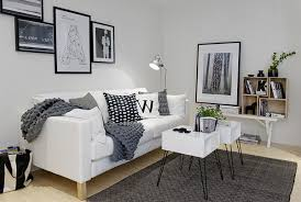 White Sofa Ideas by Living Room Spaces White Sofa Pillow Table Wall Bookcase Shelves