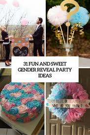 31 fun and sweet gender reveal party ideas shelterness