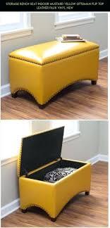 Mustard Yellow Ottoman Yellow Leather Ottoman Mustard Yellow Leather Ottoman Sensuuri