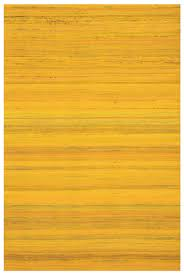 Wool Indian Rugs Yellow Flat Weave Handcrafted Wool Indian Rug Woodwaves