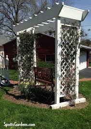 Arbors And Pergolas by Vertical Gardening With Trellises Arbors And Pergolas Spotts