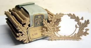 german army officers cap cardboard wreath template warhats com