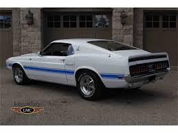 1969 mustang gt500 for sale 1969 shelby gt500 for sale classiccars com cc 896455