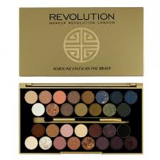 makeup revolution bbb fortune favours the brave 30 eyeshadow