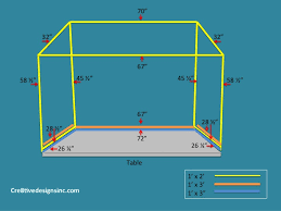 How To Build A Table Top How To Build A Table Top Canopy Cre8tive Designs Inc