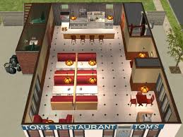 Coffee Shop Floor Plans Mod The Sims Seinfeld Coffee Shop In Residential Apartment Building