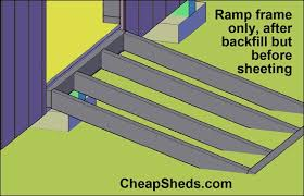 How To Build A Small Lean To Storage Shed by How To Build A Shed Ramp