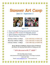 usarts education center u2013 san diego summer camps