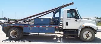 2004 international durastar 4300 winch truck item da6786