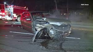 nissan altima for sale in ventura county video captures violent crash on 101 freeway in hollywood hills ktla