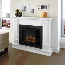 white electric fireplace costco home fireplaces firepits