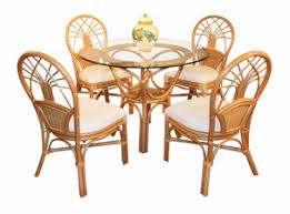 Rattan Kitchen Table by Wicker Dining Set Selections U0026 Indoor Wicker Furniture Sets