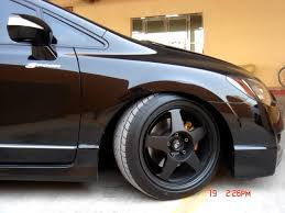 2009 honda civic tire size 17x8 5 wheels