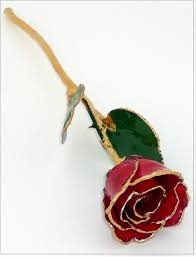 gold dipped lacquer and gold dipped gold roses 24kt gold trimmed