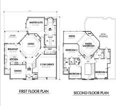 two floor plan the 25 best two houses ideas on house
