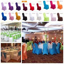 wholesale chair covers universal white polyester spandex wedding chair covers weddings