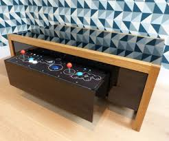 Turn A Coffee Table Into An Awesome Two Player Arcade Cabinet by Machine Coffee Table