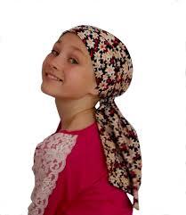 pre chemo ava joy children s pre tied head scarf girl s cancer headwear